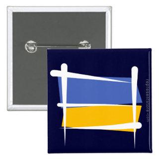 Bandera del cepillo de Ucrania Pin