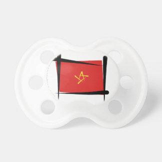 Bandera del cepillo de Vietnam Chupetes De Bebe