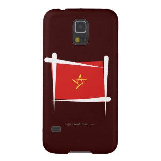 Bandera del cepillo de Vietnam Funda Galaxy S5