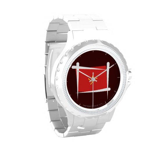 Bandera del cepillo de Vietnam Relojes