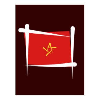 Bandera del cepillo de Vietnam Postales