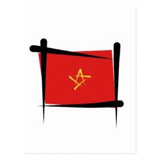 Bandera del cepillo de Vietnam Postal