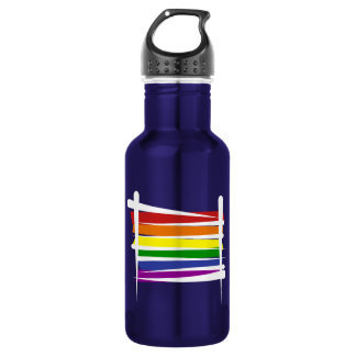 Bandera del cepillo del orgullo gay del arco iris