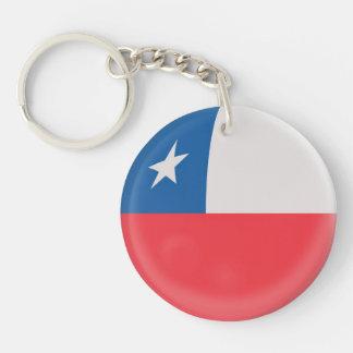Bandera del chileno de Chile del llavero