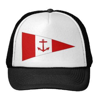 Bandera del club de la navegación de Derg del lago Gorras De Camionero
