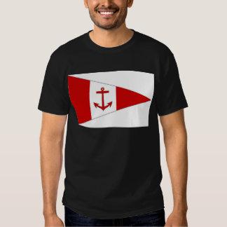 Bandera del club de la navegación de Derg del lago Playera
