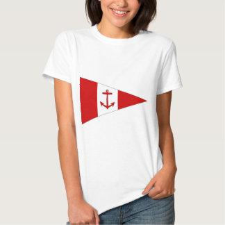 Bandera del club de la navegación de Derg del lago Polera