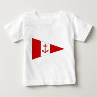Bandera del club de la navegación de Derg del lago Remeras