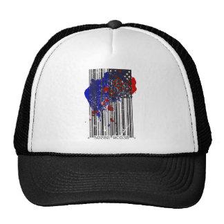 Bandera del código de barras gorra