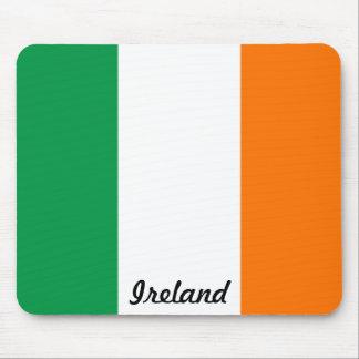 Bandera del cojín de ratón de Irlanda Tapete De Ratones