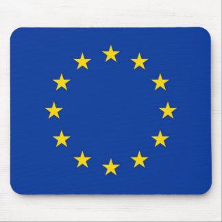 Bandera del cojín de ratón de la unión europea alfombrilla de raton