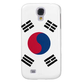 Bandera del coreano de la Corea del Sur Funda Para Galaxy S4