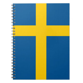 Bandera del cuaderno de Suecia
