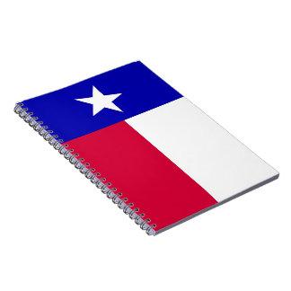 Bandera del cuaderno de Tejas