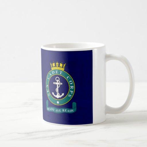 Bandera del cuerpo del cadete del mar de Reino Taza
