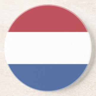 Bandera del de los Países Bajos Posavasos Para Bebidas