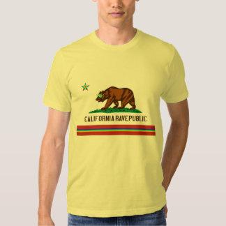 Bandera del delirio de California Poleras