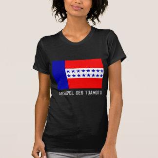 Bandera del DES Tuamotu de Archipel con nombre Camiseta