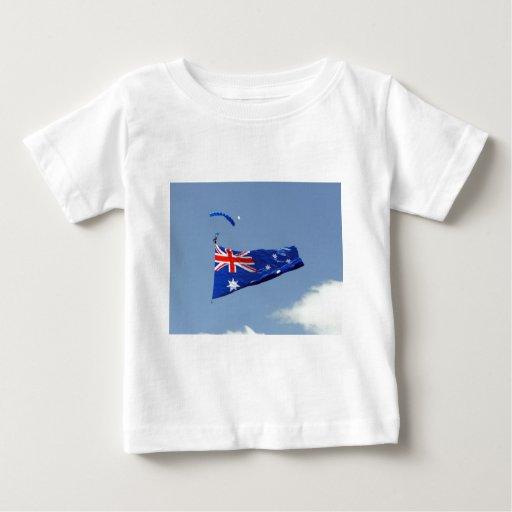 Bandera del día de Australia Remeras