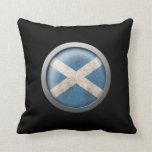 Bandera del disco de Escocia Almohadas