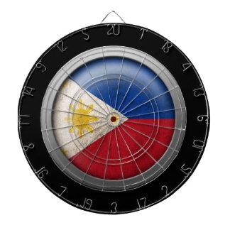 Bandera del disco de Filipinas Tablero De Dardos