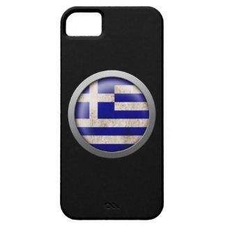 Bandera del disco de Grecia Funda Para iPhone SE/5/5s