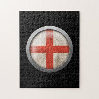 Bandera del disco de Inglaterra Puzzles