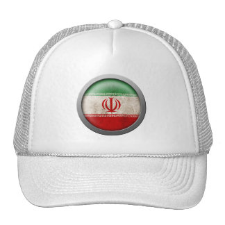 Bandera del disco de Irán Gorros