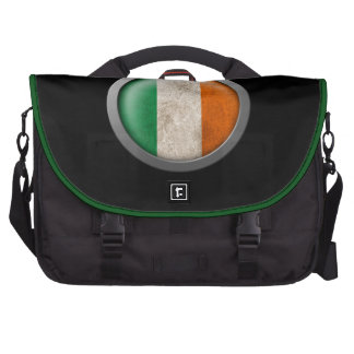 Bandera del disco de Irlanda Bolsa De Ordenador