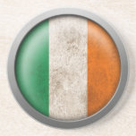 Bandera del disco de Irlanda Posavasos Para Bebidas