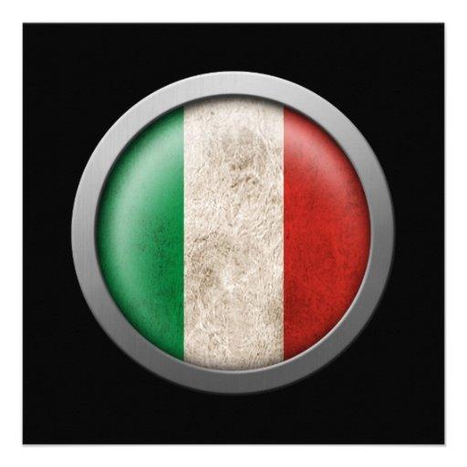 Bandera del disco de Italia Comunicados