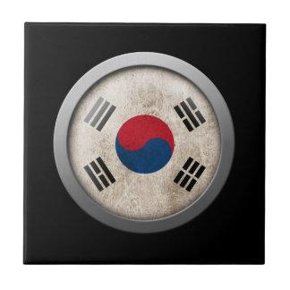 Bandera del disco de la Corea del Sur Azulejos Cerámicos