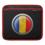 Bandera del disco de Rumania Mangas De iPad