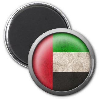 Bandera del disco de United Arab Emirates Imán