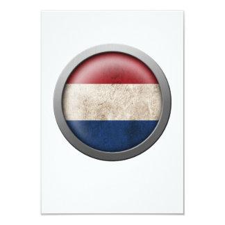 """Bandera del disco holandés invitación 3.5"""" x 5"""""""