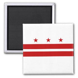 Bandera del distrito de Columbia Imanes Para Frigoríficos