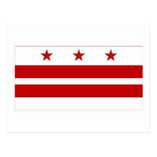 Bandera del distrito de Columbia Postal