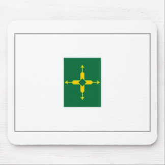 Bandera del distrito federal del Brasil Tapetes De Raton