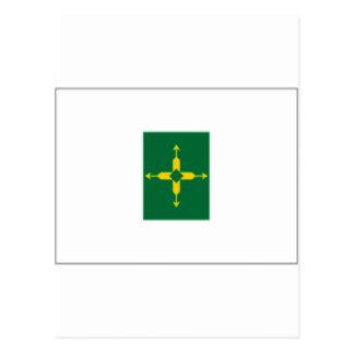 Bandera del distrito federal del Brasil Postales
