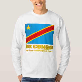 Bandera del dr Congo Playera