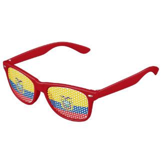 Bandera del Ecuadorian Gafas De Fiesta