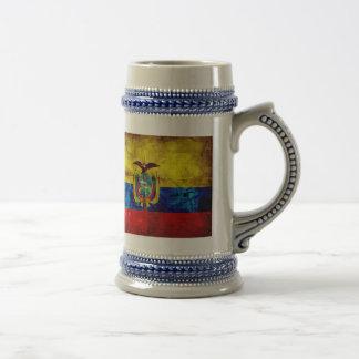Bandera del Ecuadorian Taza De Café