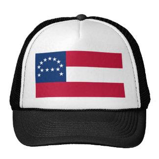 Bandera del ejército confederado de Virginia septe Gorro