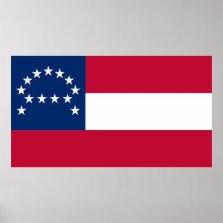Bandera del ejército confederado de Virginia septe Impresiones