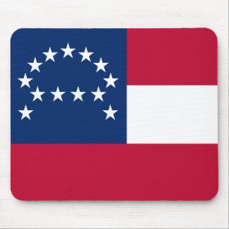 Bandera del ejército confederado de Virginia septe Mouse Pads