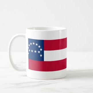 Bandera del ejército confederado de Virginia septe Taza