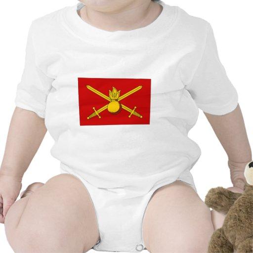 Bandera del ejército de la Federación Rusa Traje De Bebé