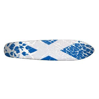 Bandera del escocés del Grunge Monopatin Personalizado