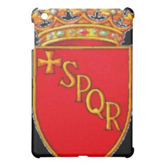 Bandera del escudo de armas de Roma