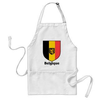 Bandera del escudo/de Bélgica de Belgique Delantales